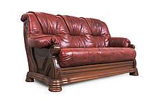 """Класичний шкіряний диван """"Kardinal 5030"""" (Віконт 5030), фото 2"""
