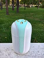 """Увлажнитель воздуха ультразвуковой  с встроенной батарей и доп. USB портом) """"The Comet"""" Зеленый"""