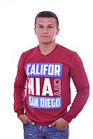 Модный мужской джемпер с надписью CALIFORNIA CITY