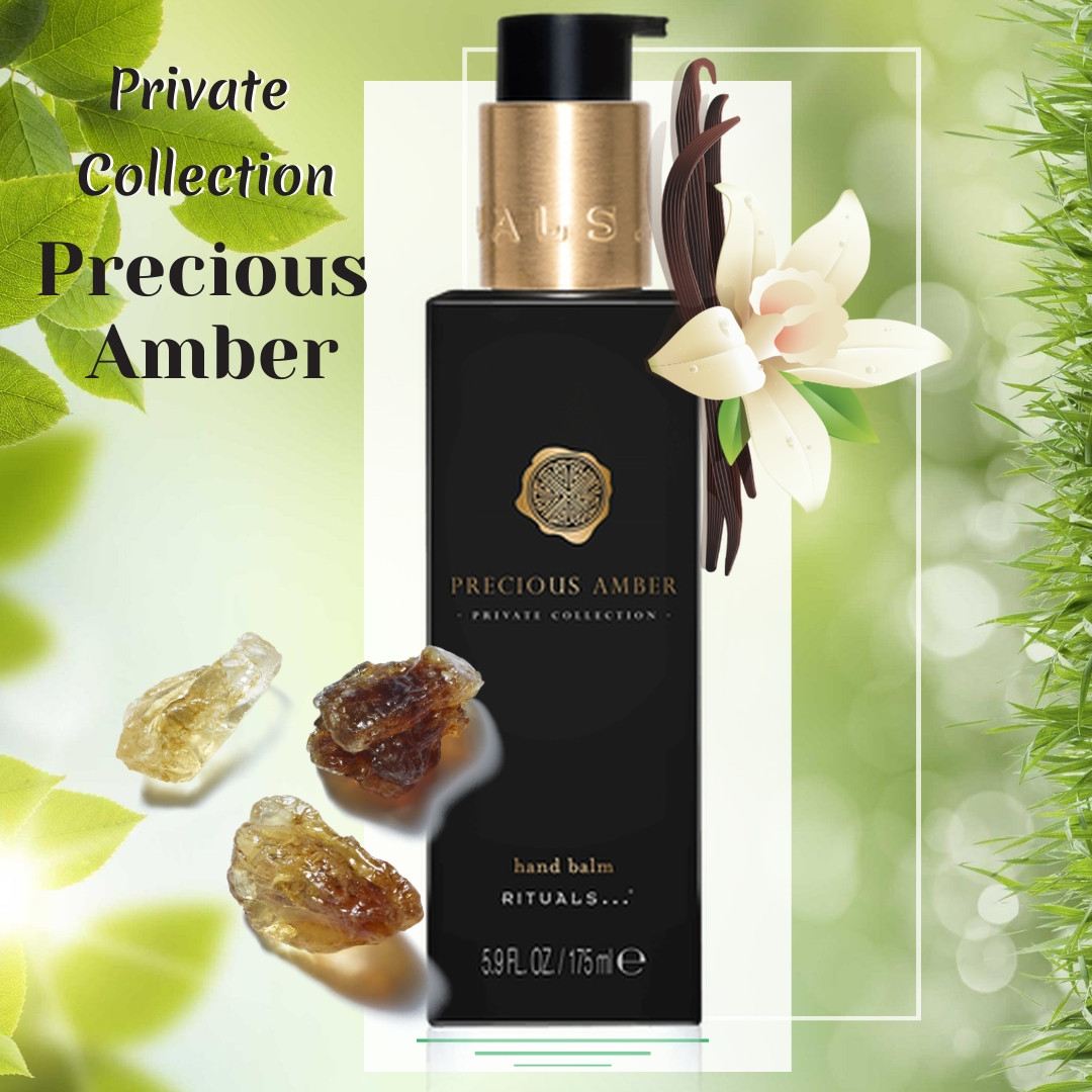 "Rituals. Бальзам для рук ""Precious Amber"". Производство Нидерланды. 175 мл."