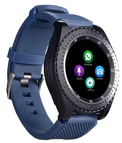 Умные часы UWatch Z3 со съемным ремешком Blue