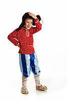 Детский карнавальный костюм Дед в ушанке на рост 115-125 см, фото 1