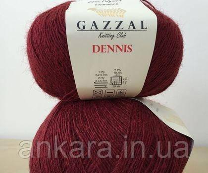Пряжа Gazzal Dennis 902