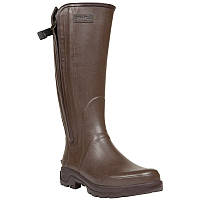 Сапоги резиновые, чоботи гумові Solognac INVERNESS 500 коричневые