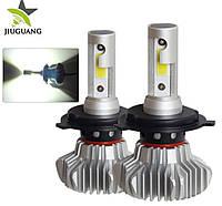 Комплект (2шт) светодиодных автомобильных ламп  S9 H4 3800 Lm