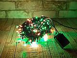 Новогодняя гирлянда светодиодная мультиколор LED 300, фото 4