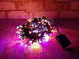 Новогодняя гирлянда светодиодная мультиколор LED 300, фото 6