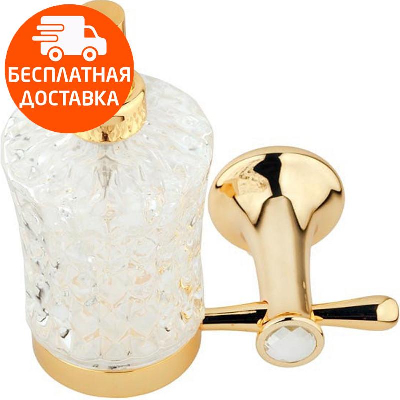 Дозатор для жидкого мыла KUGU Bavaria 314G золото