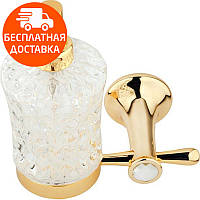 Дозатор для жидкого мыла KUGU Bavaria 314G золото, фото 1