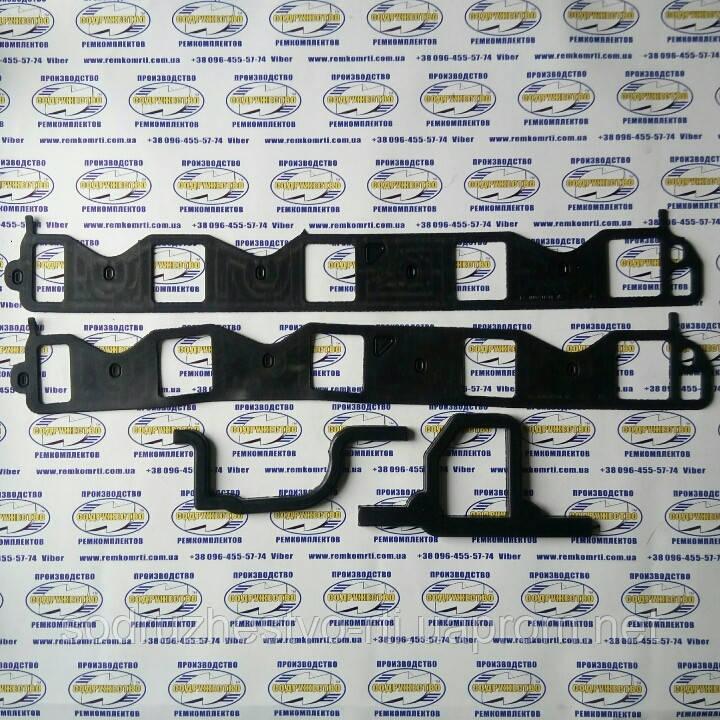 Комплект прокладок газопровода (паук) автомобиль ГАЗ-53 (прокладка резина)