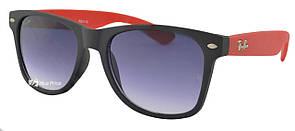 Солнцезащитные очки Ray Ban Wayfarer 2140 красная дужка (реплика)