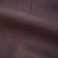 Льняная ткань для постельного белья, серо - коричневого цвета (шир. 260 см), фото 1
