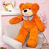 Большой плюшевый медведь Фокси, 120 см, медовый, фото 4