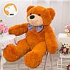 Большой плюшевый медведь Фокси, 120 см, медовый, фото 3