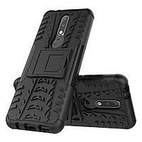 Чехол Armor Case для Nokia 3.1 Plus Черный