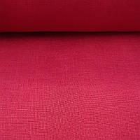 Льняная ткань для постельного белья, бордового цвета (шир. 260 см), фото 1