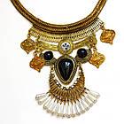 Колье-кулон Клеопатра. Объемное восточное ожерелье, фото 2