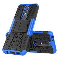 Чехол Armor Case для Nokia 3.1 Plus Синий
