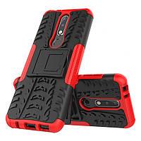 Чехол Armor Case для Nokia 3.1 Plus Красный