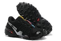 Зимние кроссовки Salomon Speedcross 3, зимние беговые кроссовки саломон спидкросс 3 черные