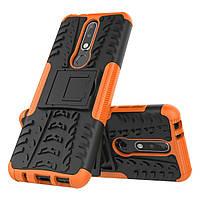Чехол Armor Case для Nokia 3.1 Plus Оранжевый