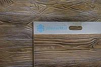 Фасадная панель. Облицовочный гибкий камень с фактурой дерева (1шт/0.3м2, панель 1500х200х3 мм)