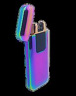 Электрическая зажигалка USB Lighter Classic Fashionable Хамелеон (ART-0188)