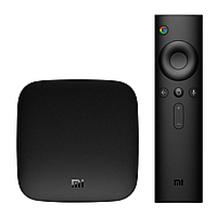 Смарт ТВ приставка Xiaomi MI box 3 (2/8Gb) с голосовым управлением