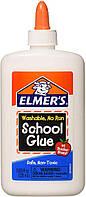 Elmer's Клей Элмерс белый смываемый для слайма, 225мл. Elmers washable glue. Оригинал из США, фото 1