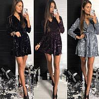 Платье женское вечернее чёрное, серебро, марсала, фото 1
