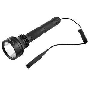 Подствольный фонарь Policee Q2808-T6, под ружье, вынос.кнопка, 2x18650, ЗУ 220V