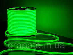 Гибкий неон 100 м, цвет- Зеленый