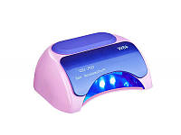 Гибридная лампа для ногтей CCFL-LED Professional nail 48 Вт, Розовая