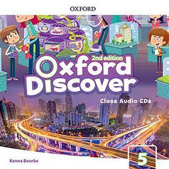 Oxford Discover 5 Class Audio CDs