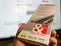 PIKO A-Gleis 55240 Глухое пересечение К15 239,07 мм. 15°,колея 16,5 мм, 1:87, фото 1