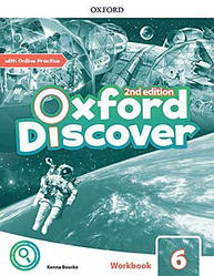 Oxford Discover 6 Workbook with Online Practice
