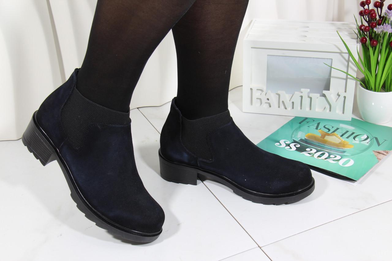 Модные ботинки челси на низком каблуке Tunkay 8505-lact