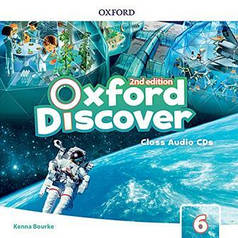 Oxford Discover 6 Class Audio CDs