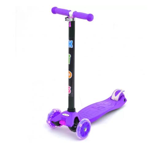 Детский Самокат BB 3-013-4-H (Фиолетовый)