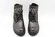 Комфортные кожаные ботинки Aras Shoes 415-Gelik, фото 3