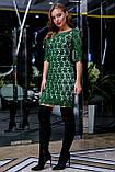 Елегантне коктейльне плаття з мереживом (5 кольорів, р S,M,L,XL), фото 3