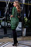 Елегантне коктейльне плаття з мереживом (5 кольорів, р S,M,L,XL), фото 4