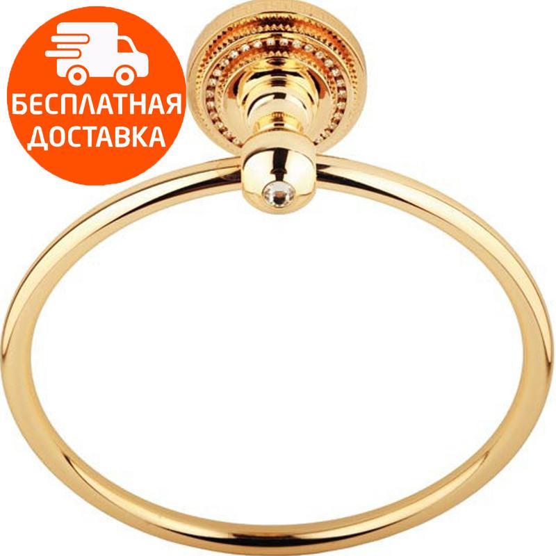 Кольцо для полотенца KUGU Eldorado 804G золото