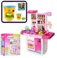 Вместе дешевле! Кухня детская с водой, холодильником арт. WD-A23 и кофеварка 08019