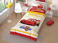 Комплект постельного белья ТАС Disney Cars ранфорс 160-220, фото 1