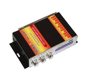 Автомобильный усилитель звука UKC VA-502BT, фото 2