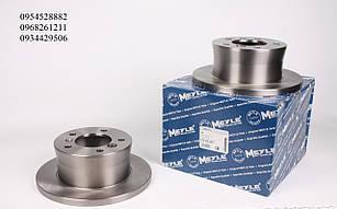 Гальмівний диск задній (272х16мм) Mersedes Sprinter 308-316 1995-2006 т колодок гальмівних передніх (Німеччина) 0155232031