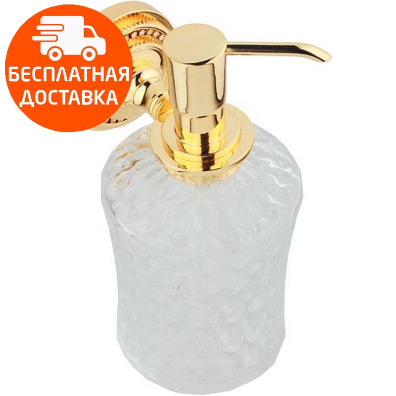 Дозатор для жидкого мыла KUGU Eldorado 814G золото
