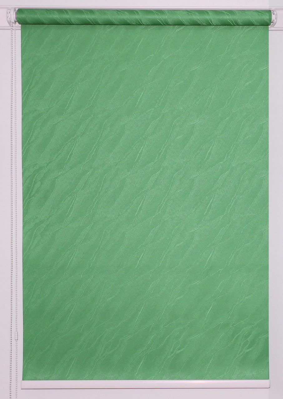 Рулонна штора Вода Т-зелений