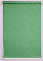 Рулонна штора Вода Т-зелений, фото 1